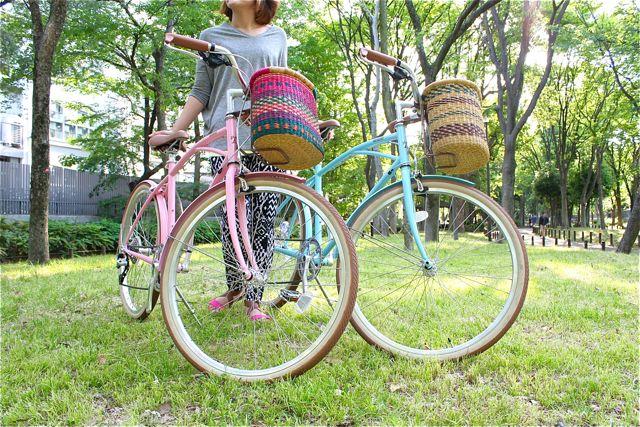 アロハロコ Asungtaba Bike Basket おしゃれカゴ バスケット_b0212032_21272463.jpg