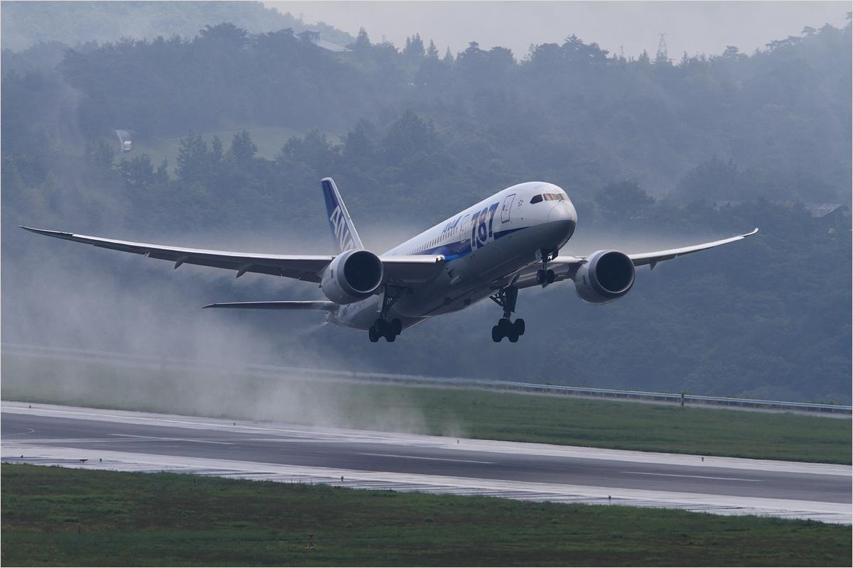 豪雨の後 - 岡山空港_c0308259_222464.jpg