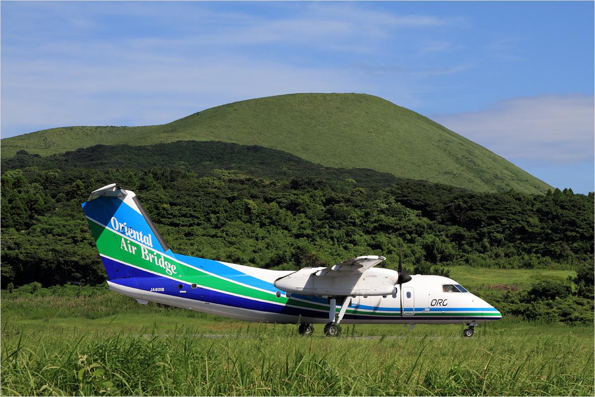 鬼岳 - 福江空港_c0308259_2282185.jpg