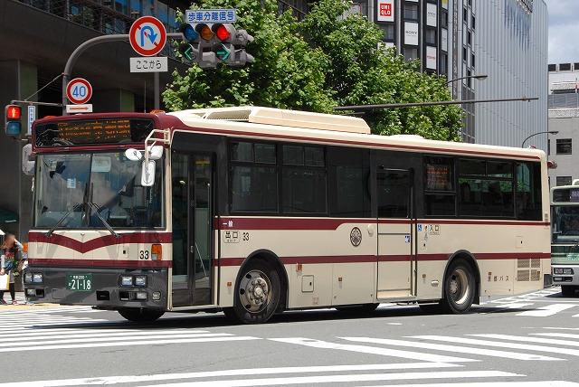 京都バス~西工96MC(B-I)/日産ディーゼル  33~_a0164734_23294295.jpg