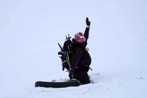 【滑走レポ 2013.4.16】 初めてのOPEN立山!!前編@立山_e0037849_19555185.jpg