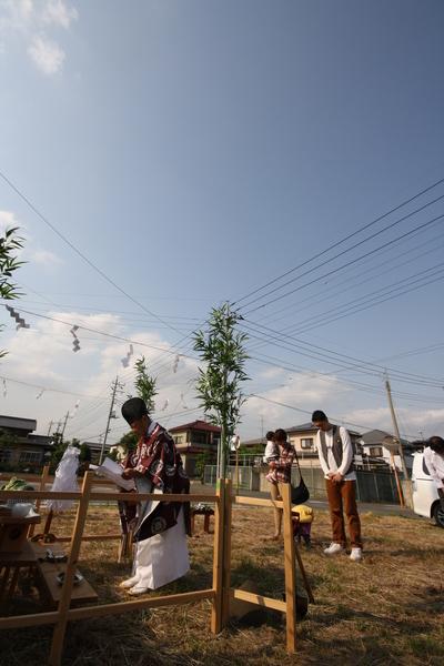 太田市木崎町  O田様  地鎮祭おめでとうございました。。_a0084859_9274846.jpg