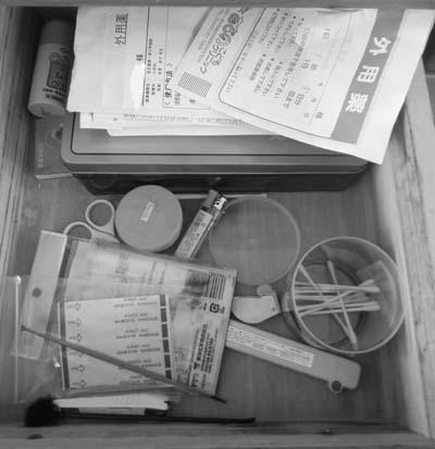 無印良品のメイクボックスで薬と衛生品を収納_c0293787_11174684.jpg