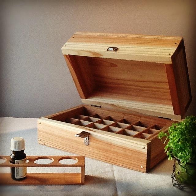 精油box(24本収納)&精油スタンド。_b0125443_13432857.jpg