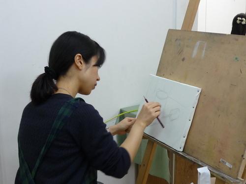 「イチからはじめる油絵」講座レポート_c0171646_1695770.jpg
