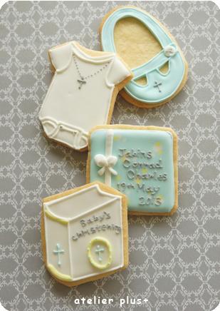 Baby\'s  Christening Cookies☆_b0228252_0114519.jpg