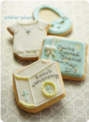 Baby\'s  Christening Cookies☆_b0228252_0115889.jpg
