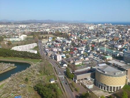 五稜郭タワーからの眺め_b0106766_2323148.jpg