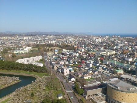 五稜郭タワーからの眺め_b0106766_23231492.jpg