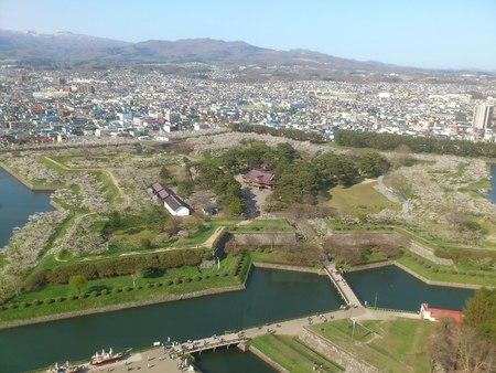 五稜郭タワーからの眺め_b0106766_23231573.jpg