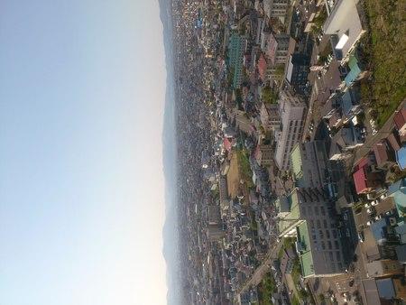 五稜郭タワーからの眺め_b0106766_23231591.jpg