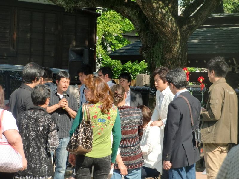 5月18日 演歌歌手 三山ひろしさん柴又に来る!_d0278912_21331546.jpg