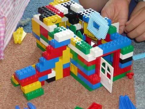 ブロック遊び ーパート3-_b0228113_1545082.jpg