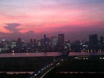 東京の夕焼け_e0016513_9595798.jpg