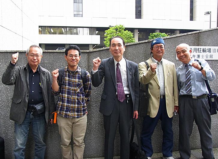 山田書記長解雇撤回、中労委相手の裁判_d0155415_0465279.jpg