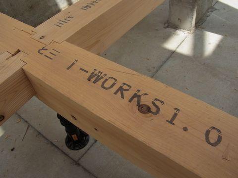 i-works、2棟目が上棟しました!_a0059217_12282434.jpg
