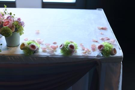 初夏の装花 ひとつの夢 新宿スカイギルド様へ_a0042928_22105870.jpg