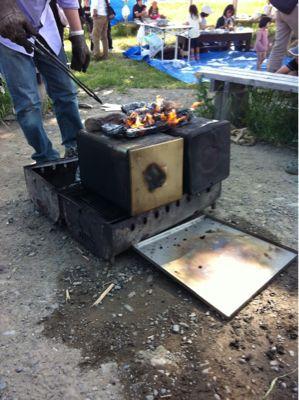 みんなで、ピザを焼きました_c0120851_19513651.jpg