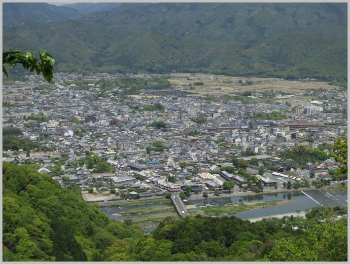 嵐山に登ってみる。_c0036080_16375735.jpg