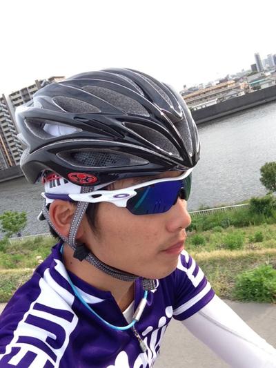 金栄堂サポート:明治大学体育会自転車部主将・西沢倭義選手アイウェアインプレッション!_c0003493_1204212.jpg