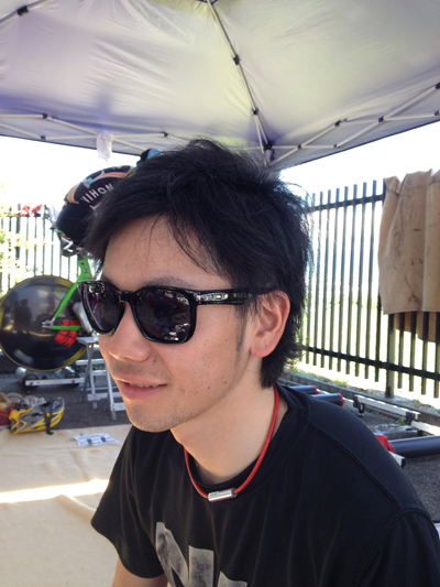 金栄堂サポート選手:日本大学自転車競技部主将・住吉宏太選手アイウェアインプレッション!_c0003493_8585613.jpg