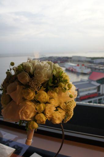 大阪南港、サンフラワーが見えるお部屋で_f0155431_22341295.jpg