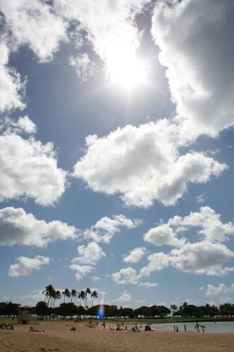 旅日記 HAWAII 2011 No3 アラモアナビーチパーク 中華の日_f0059796_21521541.jpg