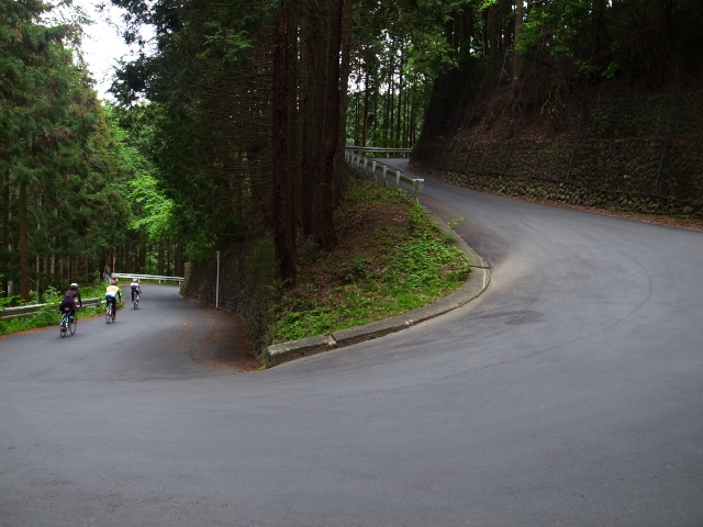 Hairpin turns of a mountain