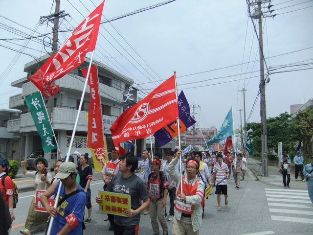 2013年沖縄闘争3日目(5月20日)_d0155415_16115588.jpg