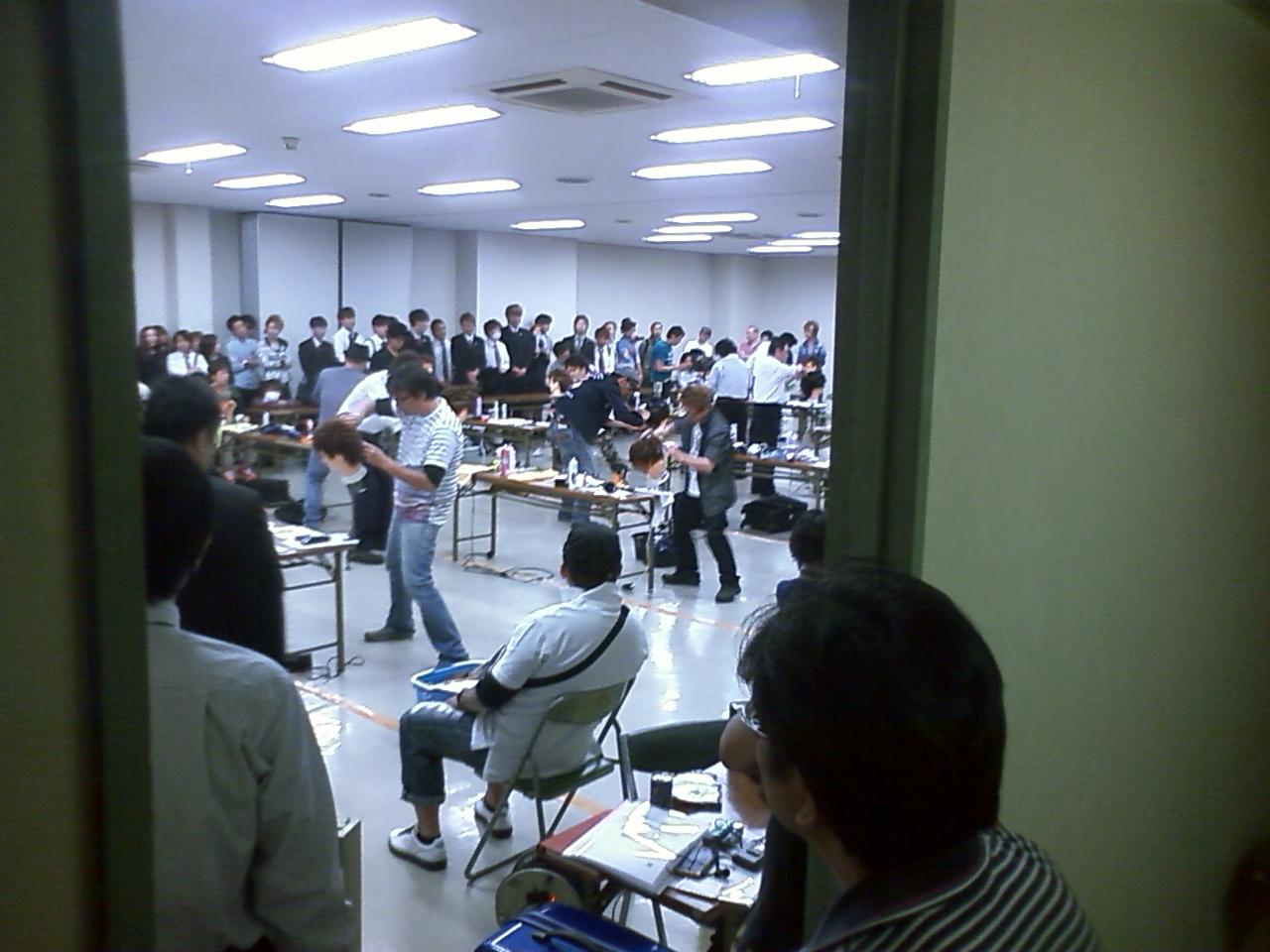 第65回 広島県理容競技大会_e0036217_21182996.jpg