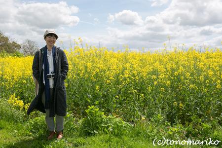 KIKIちゃんとバブーの菜の花畑_c0024345_8111373.jpg