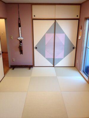 鴻巣市/琉球畳施工例&日記_b0142750_11535019.jpg