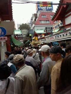 浅草は三社祭りでした☆浅草寺のご朱印_f0008555_17295611.jpg