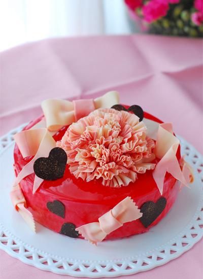 母の日のケーキ_c0169657_11171781.jpg