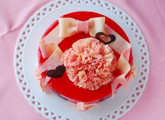 母の日のケーキ_c0169657_11175382.jpg