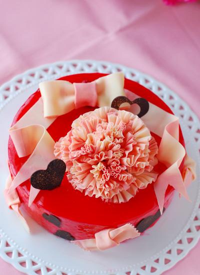母の日のケーキ_c0169657_920445.jpg
