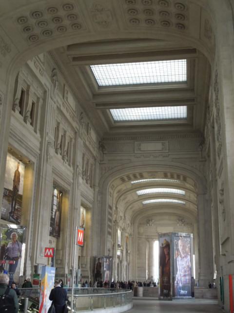 ムッソリーニの遺産 -ミラノ中央駅-_f0189467_0183331.jpg