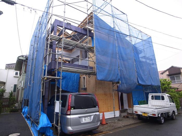桜新町の現場_f0223603_12593161.jpg