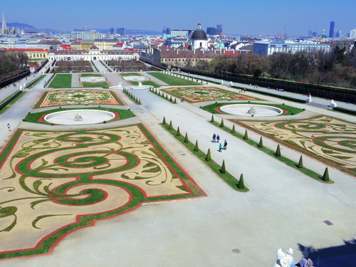 ウィーン&ロンドンへの旅(6)―ウィーン市内散策、ベルヴェデーレ宮殿、公園、子ども_e0123104_6373176.jpg