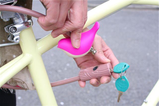 Charly kotori chain lock チャーリー おしゃれ 自転車 ロック カギ_b0212032_21192696.jpg