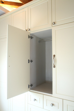 ドレッサー付きメルヘントラッド調家具収納ユニット DL gt邸 刈谷市_f0222049_20414595.jpg