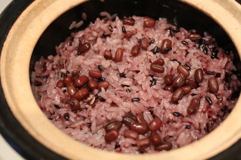 簡単に、つぶつぶプチプチ、韓国風雑穀おこわ_a0223786_1151839.jpg