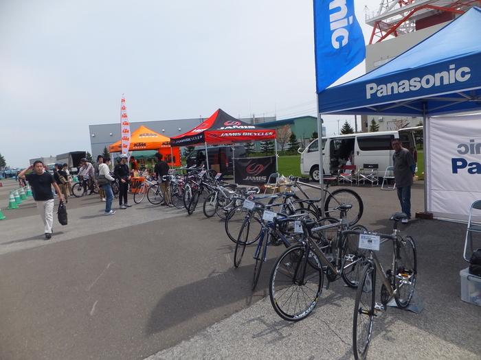 北海道スポーツサイクルフェスティバル 2013 in つどーむ_c0226202_21562117.jpg