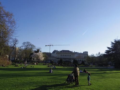 ウィーン&ロンドンへの旅(6)―ウィーン市内散策、ベルヴェデーレ宮殿、公園、子ども_e0123104_6221372.jpg