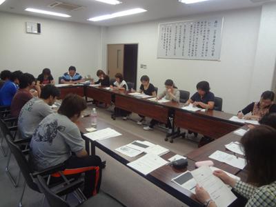 5/20支援部会議で職員研修を実施_a0154110_9464530.jpg