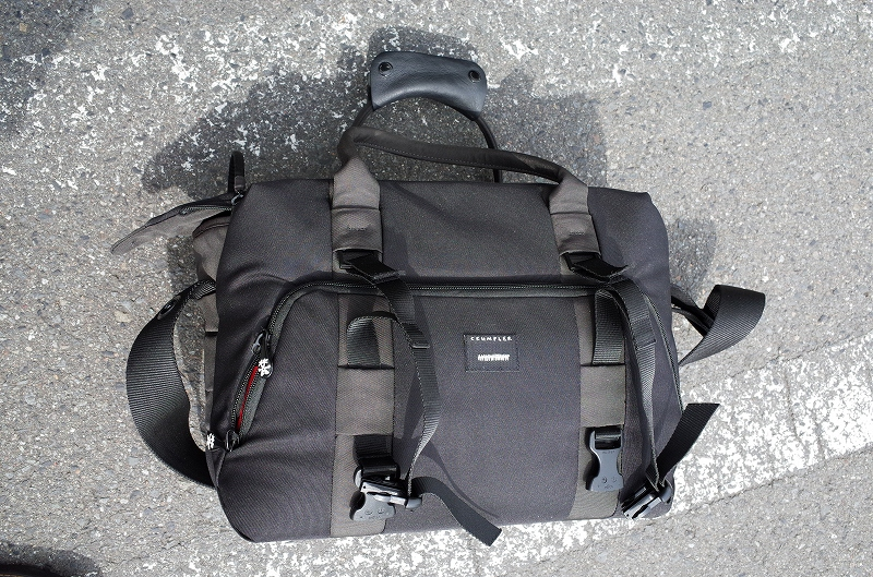 新しい旅バッグ クランプラー_f0050534_9285472.jpg