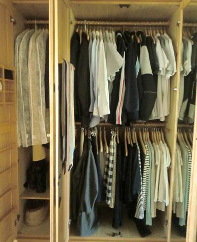 クローゼットの衣類整理 After _c0293787_13483686.jpg