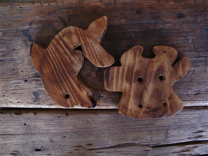イルカさん、モウモウさん、鍋敷き_f0170995_14533584.jpg