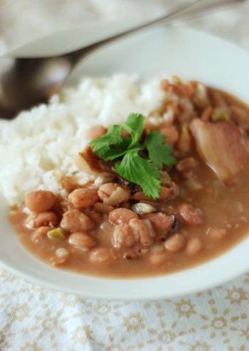 ブラジルのコロッケと豆シチュー_b0253205_1314848.jpg