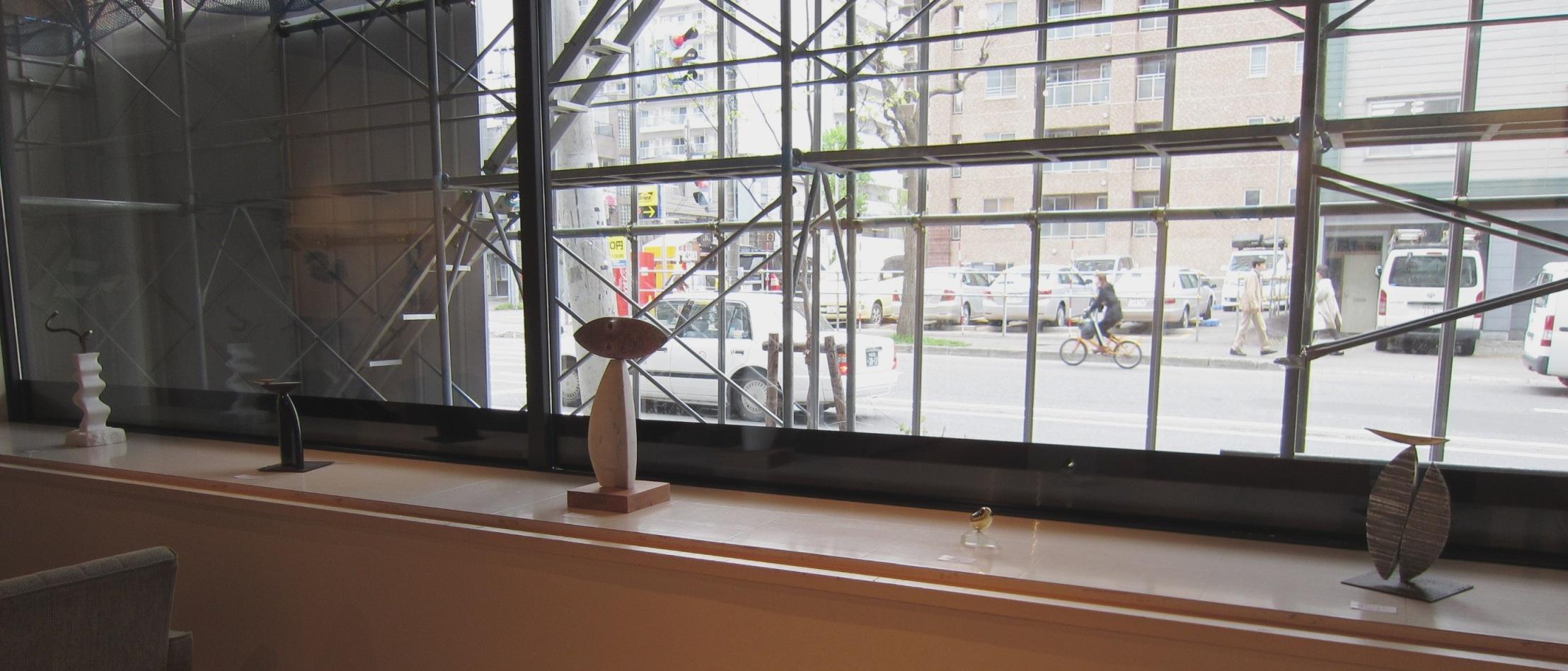 2065)「[現代書と彫刻のコラボレーション] -環境空間アートの提案-」 エッセ 5月21日(火)~5月26日(日)_f0126829_10464779.jpg